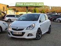 USED 2013 63 VAUXHALL CORSA 1.6 VXR 3d 189 BHP Very Low Mileage, One Private Local Owner