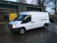 2013 FORD TRANSIT 2.2 350 Lwb medium roof 125 bhp £7250.00