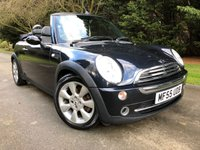 USED 2005 55 MINI CONVERTIBLE 1.6 COOPER 2d 114 BHP