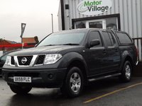 2009 NISSAN NAVARA 2.5 PICK UP WITH HARD TOP. NO VAT ON THIS VEHICLE  £8995.00