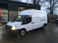 USED 2012 12 FORD TRANSIT 2.2 350 H/R 1d 100 BHP