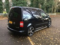 USED 2015 64 VOLKSWAGEN CADDY 1.6 C20 TDI TRENDLINE 1d 101 BHP NEW 18 INCH ALLOYS, LOWERED, LOW MILES NEW 18 INCH ALLOYS, LOWERED, GENUINE LOW MILES,