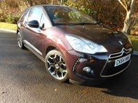 USED 2014 64 CITROEN DS3 1.6 E-HDI DSTYLE PLUS 3d 90 BHP *Zero Road Tax*1 Owner from New*