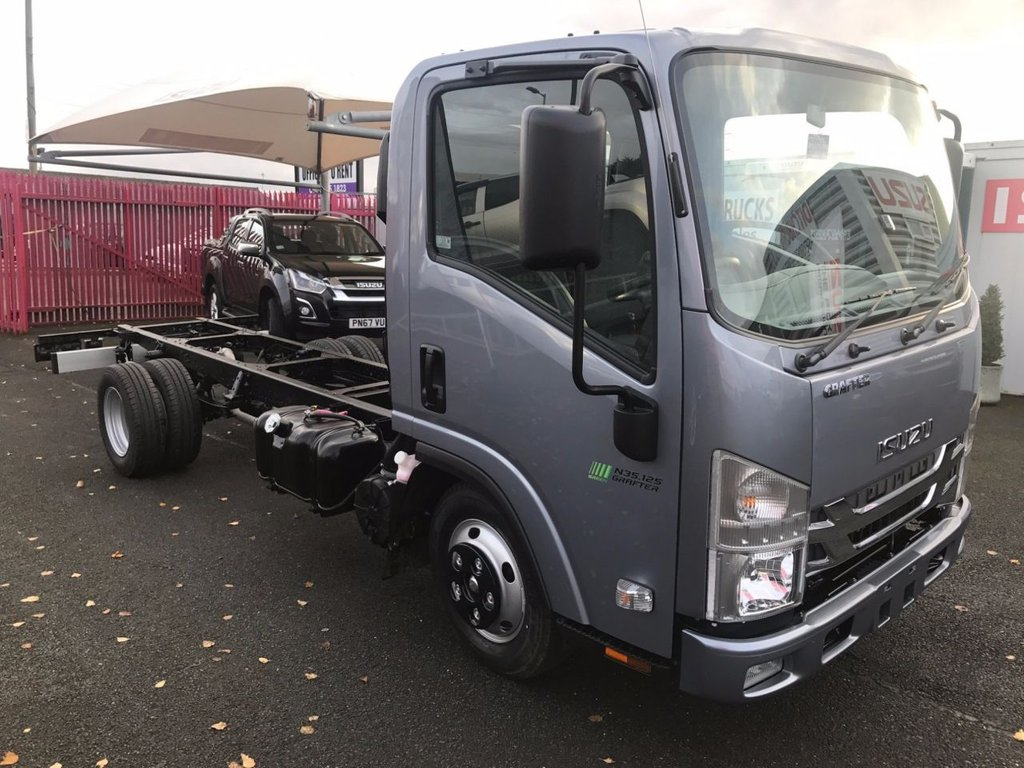 Isuzu Trucks Grafter N35 125t Lwb Chassis Cab 6 Speed Euro 6