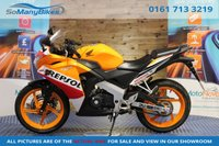 2017 HONDA CBR125 CBR 125 R-F - REPSOL - 1 Owner - BUY NOW PAY NOTHING FOR 2 MONTHS 		 £2994.00