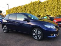 2016 NISSAN PULSAR 1.5 DCI N-CONNECTA 5d  STILL WITH REMAINING NISSAN WARRANTY  £10000.00