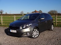 USED 2013 63 KIA CARENS 1.7 3 ECODYNAMICS CRDI 5d 134 BHP 1 OWNER WITH FULL KIA SERVICE HISTORY + KIA WARRANTY UNTIL 2020