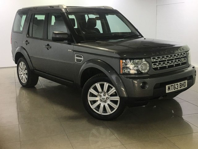 View our 2013 63 LAND ROVER DISCOVERY 3.0 4 SDV6 XS 5d AUTO 255 BHP