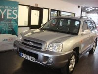 USED 2006 06 HYUNDAI SANTA FE 2.0 CDX CRTD 5d 112 BHP One private owner, 13 service stamps, June 2018 Mot. Finished in Silver over Metallic Grey