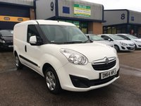 USED 2014 64 VAUXHALL COMBO 1.2 2000 L1H1 CDTI SPORTIVE 1d 90 BHP SPORT, A/C, E/W, COLOUR CODED, FINANCE ARRANGED & 6 MONTH WARRANTY. FSH, A/C, Radio/CD, Drivers airbag, Factory fitted bulk head, Side loading door, Ply-lined, colour coded, Very Good Condition, 1 Owner, remote Central Locking, Drivers Airbag, CD Player/FM Radio, Steering Column Radio Control, Side Loading Door, Wood Lined, Barn Rear Doors, spare key