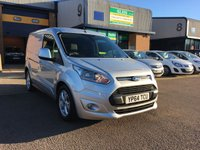2014 FORD TRANSIT CONNECT 1.6 200 LIMITED P/V 1d 114 BHP £8750.00