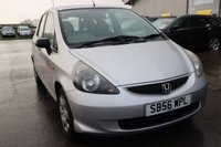USED 2007 56 HONDA JAZZ 1.2 DSI S 5d 76 BHP 25% DEPOSIT NO CREDIT CHECKS FINANCE AVAILABLE TO ALL