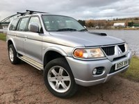 USED 2006 55 MITSUBISHI SHOGUN SPORT 2.5 WARRIOR TD GLX 5d 114 BHP **FULL BLACK LEATHER** **STAR ALLOYS**