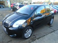 USED 2007 57 TOYOTA YARIS 1.3 TR VVTI 5d 86 BHP LOW MILEAGE EXAMPLE WITH FULL SERVICE HISTORY