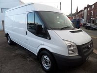 2013 FORD TRANSIT 2.2 350 1d 124 BHP 6 SPEED HIGH ROOF 3.5 TON 76000 MILES FSH PLUS VAT £5995.00