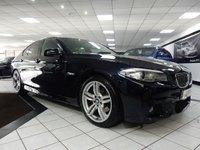 USED 2012 12 BMW 5 SERIES 520D M SPORT AUTO 181 BHP PRO NAV 19'S FBMWSH B/T HTD LR