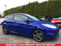2015 FORD FIESTA 1.6 ST-2 3d 180 BHP WITH REMAINING FORD WARRANTY  £11000.00
