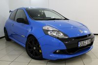 USED 2012 62 RENAULT CLIO 2.0 RENAULTSPORT 3DR 200 BHP SERVICE HISTORY + SAT NAVIGATION + CRUISE CONTROL + AUXILIARY PORT + AIR CONDITIONING + 17 INCH ALLOY WHEELS