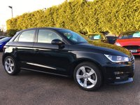 USED 2015 15 AUDI A1 1.6 TDI SPORTBACK  SPORT 5d 1 OWNER FROM NEW WITH AUDI SERVICE HISTORY NO DEPOSIT  PCP/HP FINANCE ARRANGED, APPLY HERE NOW