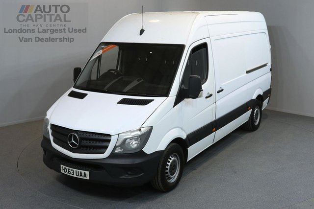 2013 63 MERCEDES-BENZ SPRINTER 2.1 313 CDI MWB 5d 129 BHP CRUISE CONTROL ONE OWNER FROM NEW