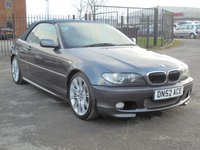 USED 2005 52 BMW 3 SERIES 2.2 320CI SPORT 2d 168 BHP 2005 BMW 320CI MSPORT, FULL SERVICE HISTORY, 2 KEYS, EXCELLENT CONDTION.