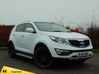 USED 2011 61 KIA SPORTAGE 2.0 CRDI KX-3 SAT NAV 5d * ONE OWNER FROM NEW * 128 POINT AA INSPECTED *