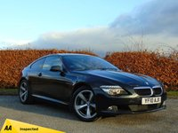 USED 2010 10 BMW 6 SERIES 3.0 635D SPORT 2d AUTOMATIC 12 MONTHS FREE AA MEMBERSHIP