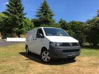 USED 2012 62 VOLKSWAGEN TRANSPORTER 2.0 T28 TDI BLUEMOTION TECHNOLOGY 160 BHP