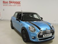 USED 2015 15 MINI HATCH COOPER 1.5 COOPER D 5d 114 BHP with Chili Pack + Media Pack XL