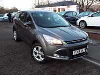 USED 2014 64 FORD KUGA 1.6 ZETEC 5d 147 BHP FULL Ford Service History With 3 Services Last At 19k
