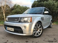 USED 2013 62 LAND ROVER RANGE ROVER SPORT 3.0 SDV6 AUTOBIOGRAPHY SPORT 5d AUTO 255 BHP AUTOBIOGRAPHY WITH FSH