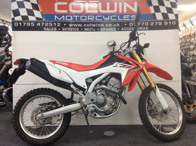 View our HONDA CRF 250 L