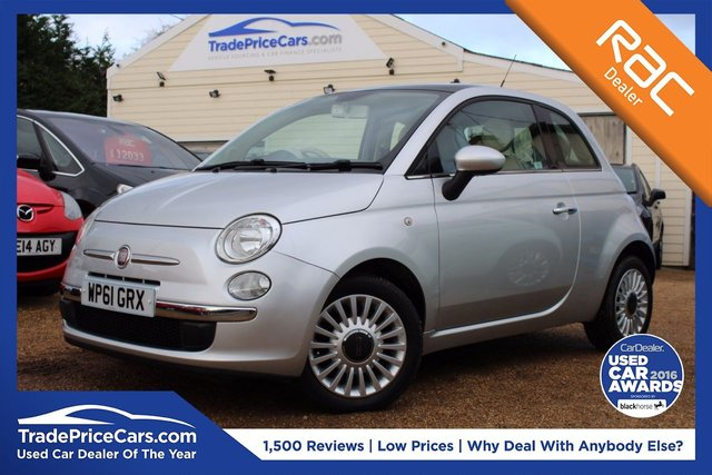 View our 2011 61 FIAT 500 1.2 LOUNGE 3d 69 BHP