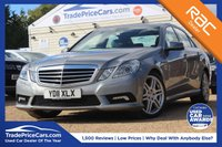 USED 2011 11 MERCEDES-BENZ E-CLASS 3.0 E350 CDI BLUEEFFICIENCY SPORT 4d AUTO 265 BHP