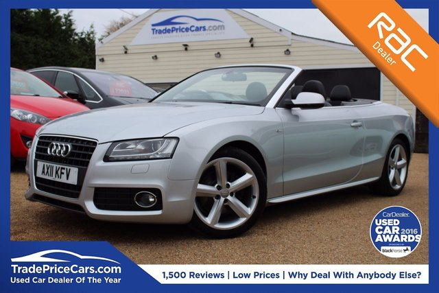 View our 2011 11 AUDI A5 2.0 TDI S LINE 2d 168 BHP