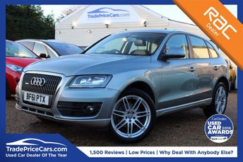 2011 AUDI Q5 2.0 TDI QUATTRO DPF 5d 168 BHP £12500.00