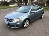 USED 2013 13 VOLKSWAGEN EOS 2.0 SPORT TDI BLUEMOTION TECHNOLOGY 2d 139 BHP GREAT SPEC LOW MILES WITH FSH