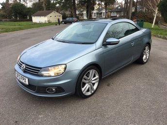 2013 VOLKSWAGEN EOS 2.0 SPORT TDI BLUEMOTION TECHNOLOGY 2d 139 BHP £9950.00