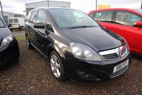 USED 2011 11 VAUXHALL ZAFIRA 1.8 SRI 5d 138 BHP LOW DEPOSIT OR NO DEPOSIT FINANCE AVAILABLE.