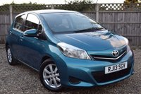 USED 2013 13 TOYOTA YARIS 1.4 D-4D TR 5d 89 BHP Free 12  month warranty