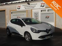 USED 2014 64 RENAULT CLIO 1.1 DYNAMIQUE MEDIANAV 5d 75 BHP Bluetooth , Sat Nav ,Cruise Control ,daytime running lights ,touch screen monitor