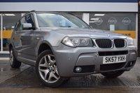 2007 BMW X3 2.0 D M SPORT 5d 148 BHP £4499.00