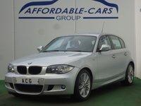 2011 BMW 1 SERIES 2.0 118D M SPORT 5d 141 BHP £7450.00
