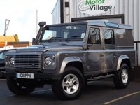 2010 LAND ROVER DEFENDER 2.4 110 TD XS UTILITY WAGON 1d 121 BHP.NO VAT ON THIS VEHICLE £19995.00