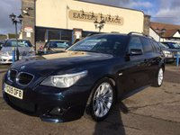 USED 2009 09 BMW 5 SERIES 2.0 520D M SPORT BUSINESS EDITION TOURING 5d AUTO 175 BHP