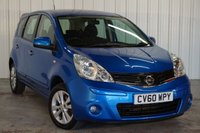 USED 2010 60 NISSAN NOTE 1.6 ACENTA 5d AUTO 110 BHP