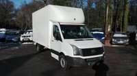 2014 VOLKSWAGEN LT CRAFTER 2.0 CR35 TDI LUTON WITH TAIL LIFT 109 BHP £13995.00
