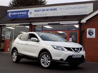 USED 2014 64 NISSAN QASHQAI 1.5 DCi ACENTA PREMIUM 5dr * Sat Nav & Pan Roof * *ONLY 9.9% APR with FREE Servicing*