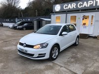 2016 VOLKSWAGEN GOLF 1.4 MATCH EDITION TSI BMT 5d 121 BHP £12950.00