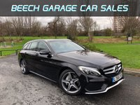 2015 MERCEDES-BENZ C CLASS 2.1 C220 D AMG LINE 5d AUTO 170 BHP £16990.00